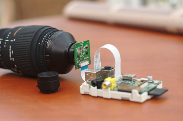 Using mobile phone camera sensors with Nikon lenses